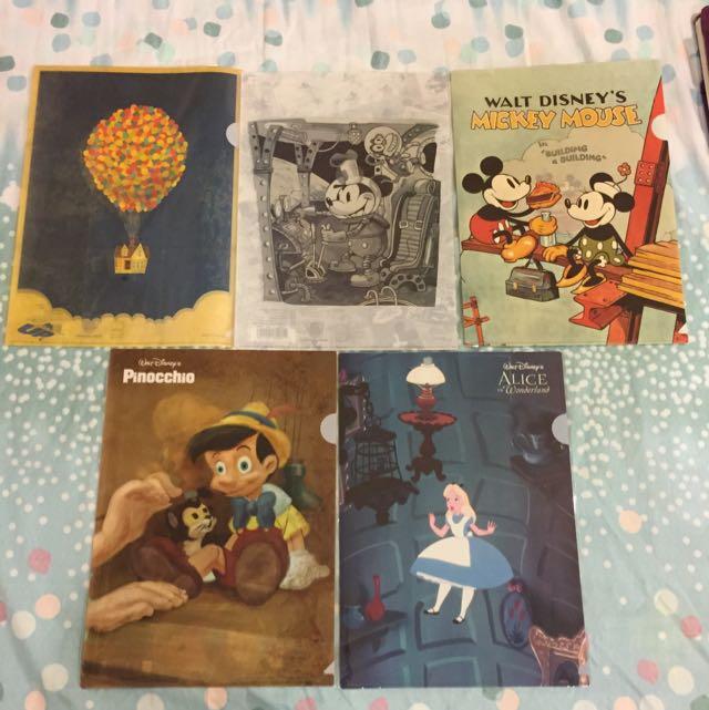 迪士尼90週年紀念展 L行資料夾 L夾