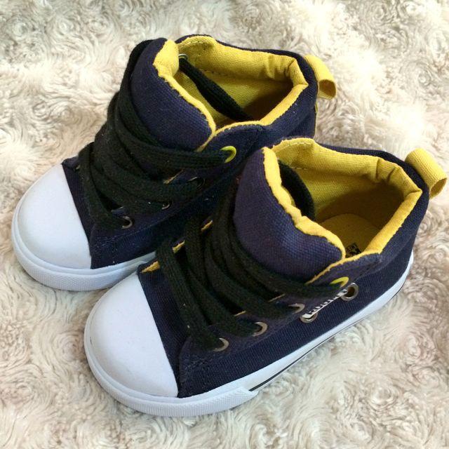 嬰兒寶寶帆布鞋