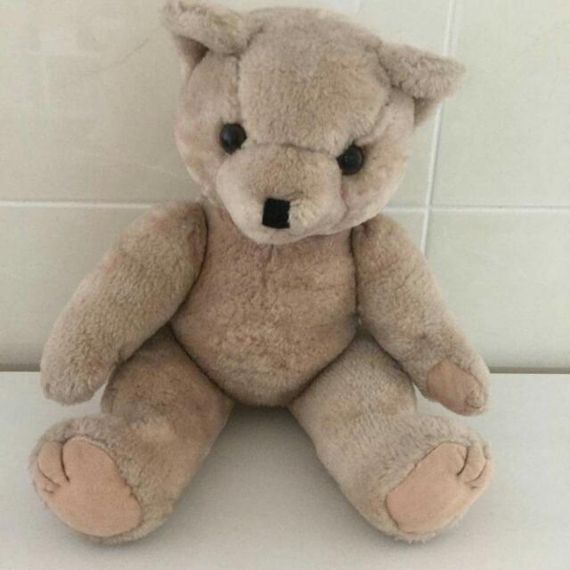 【贈品】褐色泰迪熊布娃娃