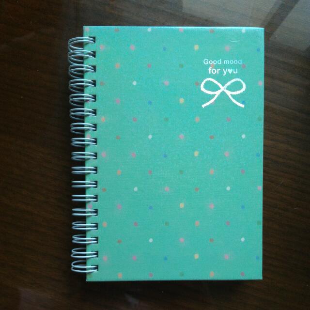 雙色空白筆記本