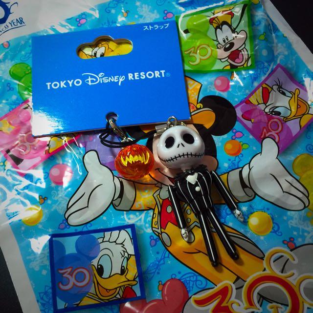 日本迪士尼帶回「聖誕夜驚魂」傑克吊飾