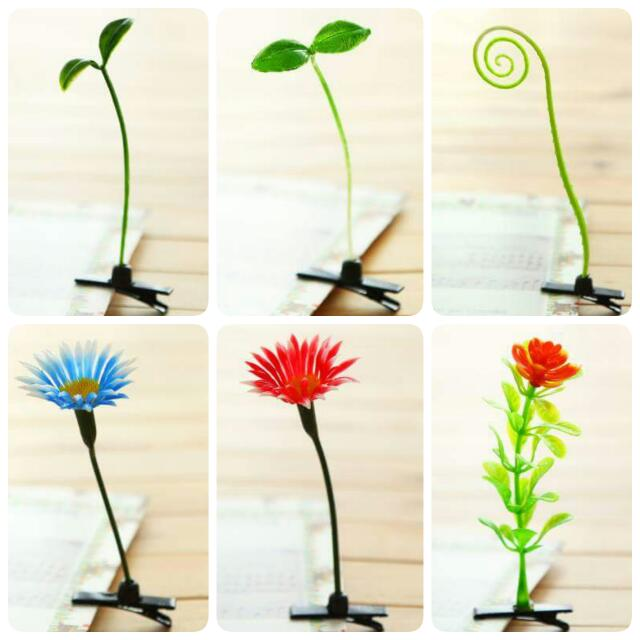 植物系列立體髮夾