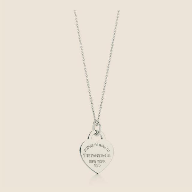 全新  Tiffany  純銀項鏈
