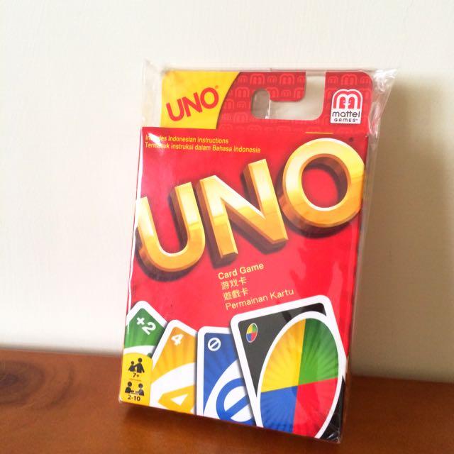 (全新) UNO遊戲卡 原價199元