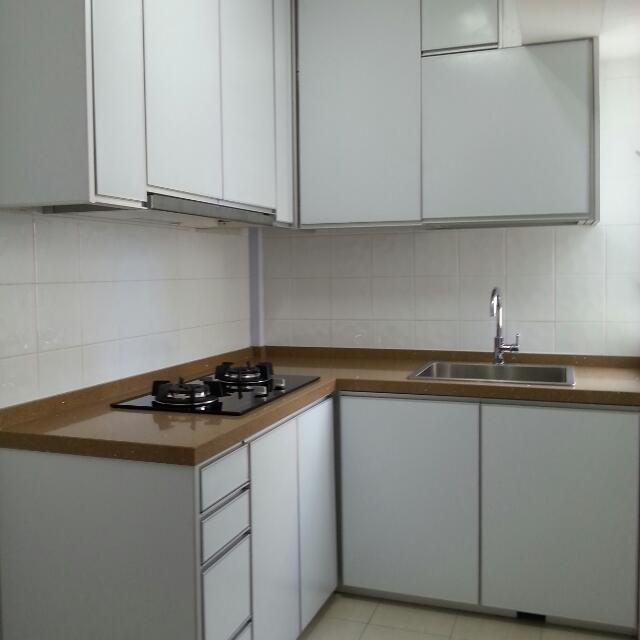 Aluminium Kitchen Cabinet, Furniture on Carousell