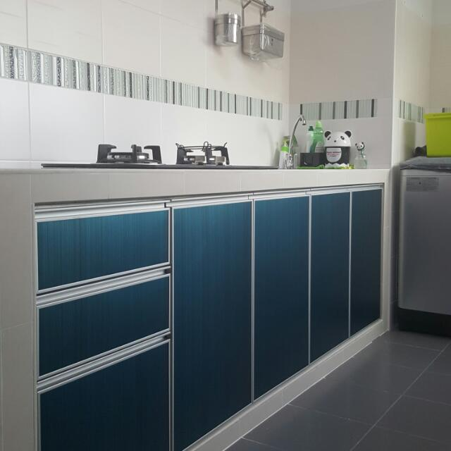 Aluminium Kitchen Cabinet Door, Furniture On Carousell