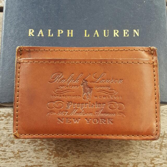 Reprice authentic polo ralph business card holder luxury on carousell photo photo photo reheart Images