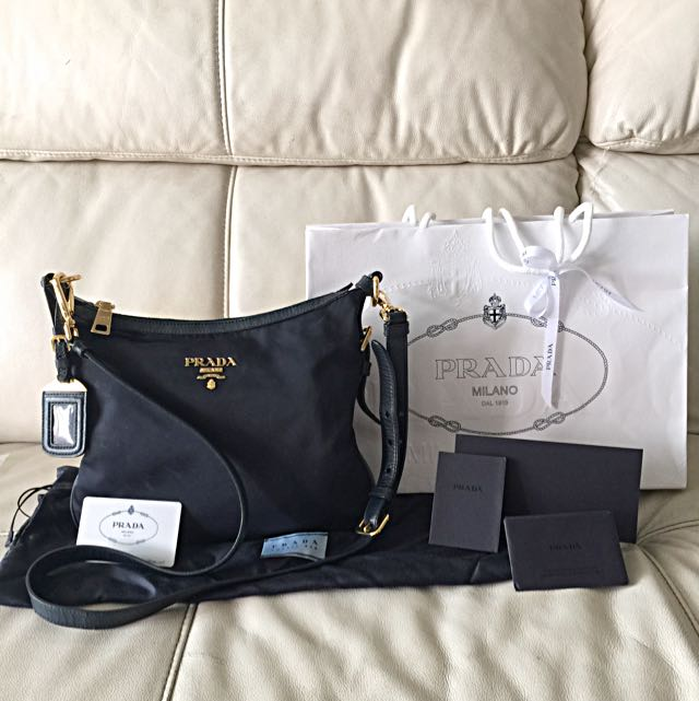 aaed1e1512f873 ... low cost authentic prada crossbody sling bag luxury on carousell a68aa  e6fde