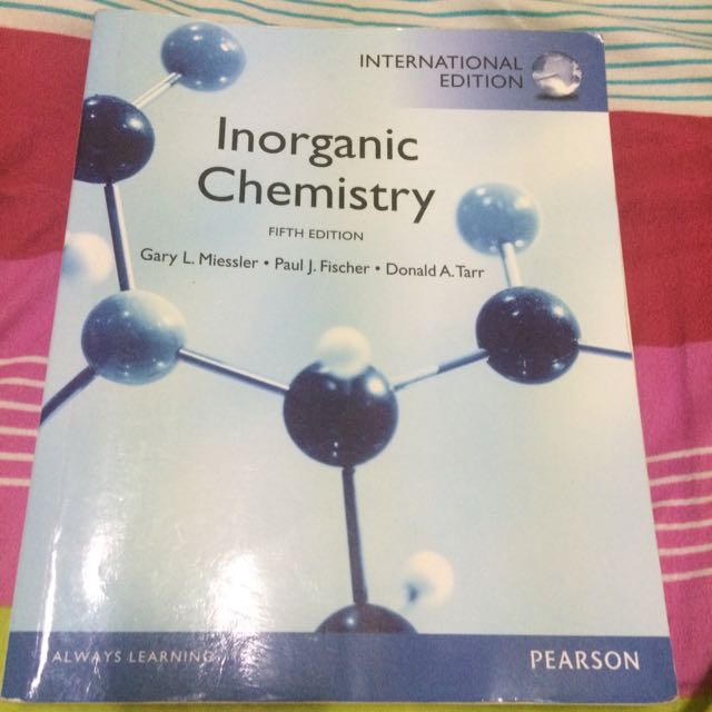 Inorganic Chemistry Fifth Edition Miessler 無機化學