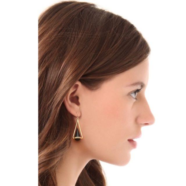 [SOLD] Black Rhinestone Earrings