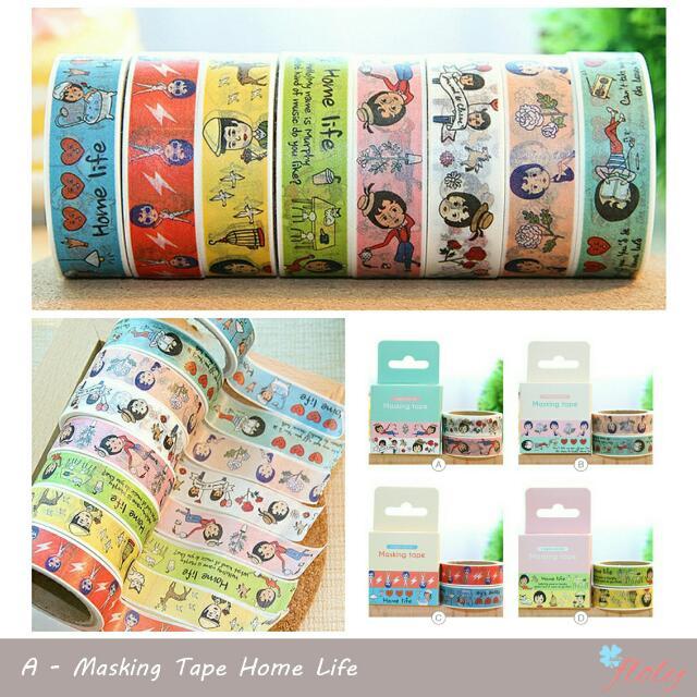 Masking Tape Home Life