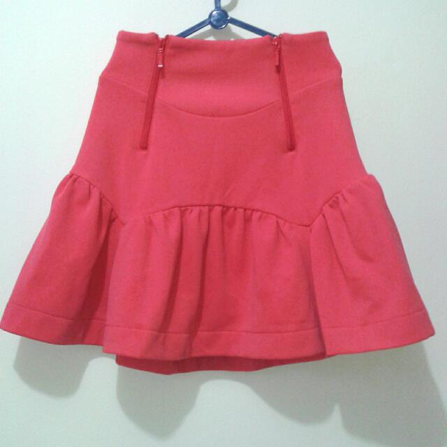 Peach Skirt