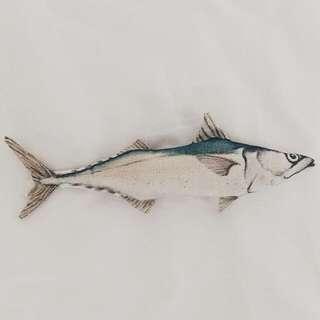 仿真魚魚  小吊飾 娃娃