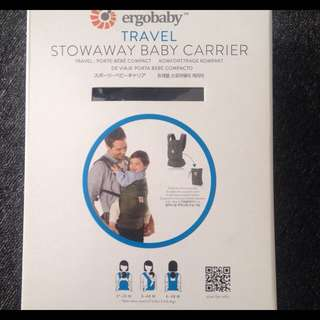 Ergobaby -Travel Stowaway Baby Carrier