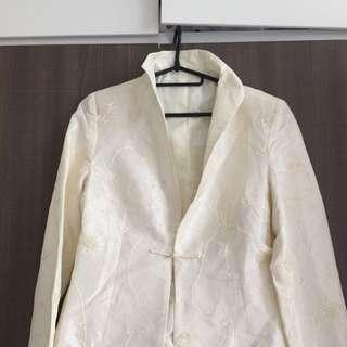 China Style Jacket Reversible Way