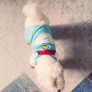Doraemon Dog Shirt
