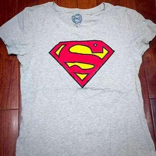 Lativ Superman 灰T