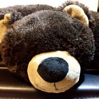 美國帶回 超柔軟棕熊 大熊娃娃抱枕 枕頭 泰迪熊