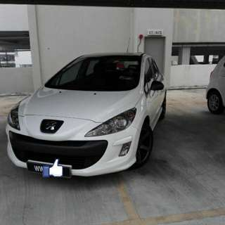 Peugeot 308 1.6 Turbo 6 Speed 2011