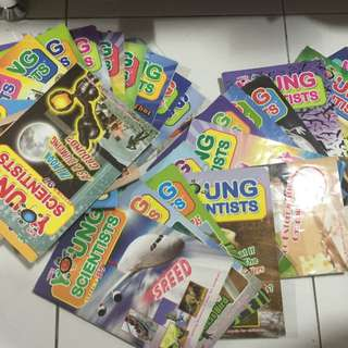 Young scientist Level 3  27 books total