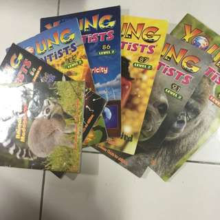 Young Scientist Level 2 7 books
