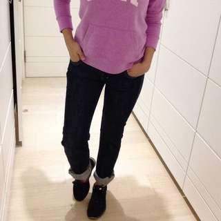 (包郵)Levi's 牛仔褲 直筒 女 深藍色 百搭款