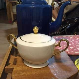 NIKKO 陶瓷糖罐/日本購入日本製