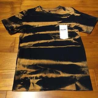 降價💸FLOW 潑沙 黑色 短袖 T-shirt 全新 S號