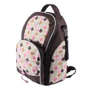 媽咪背包【Allen小舖】超強時尚多功能防震保溫母嬰雙肩後背包/媽咪包