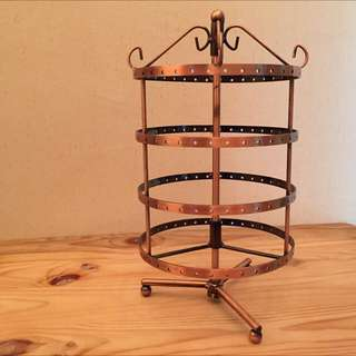 4-Tier Rotating Earrings Stand