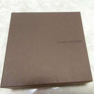 (全新)正品Lv黑色格紋皮帶