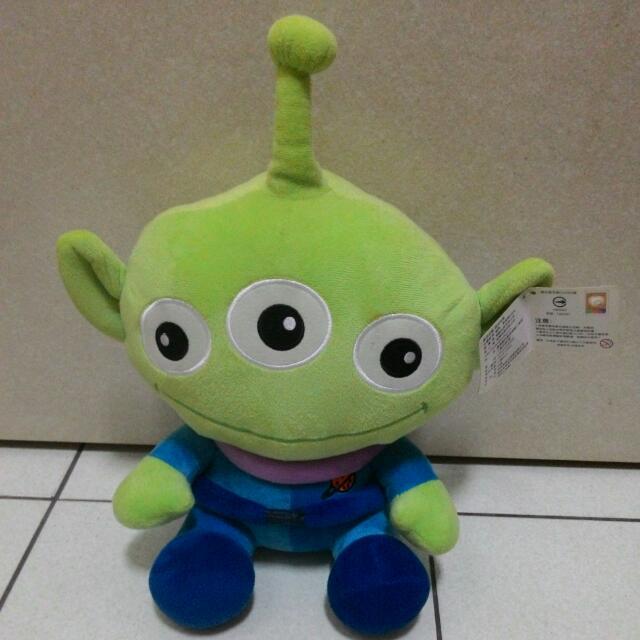 (含運635元)超可愛迪士尼正版三眼怪玩偶