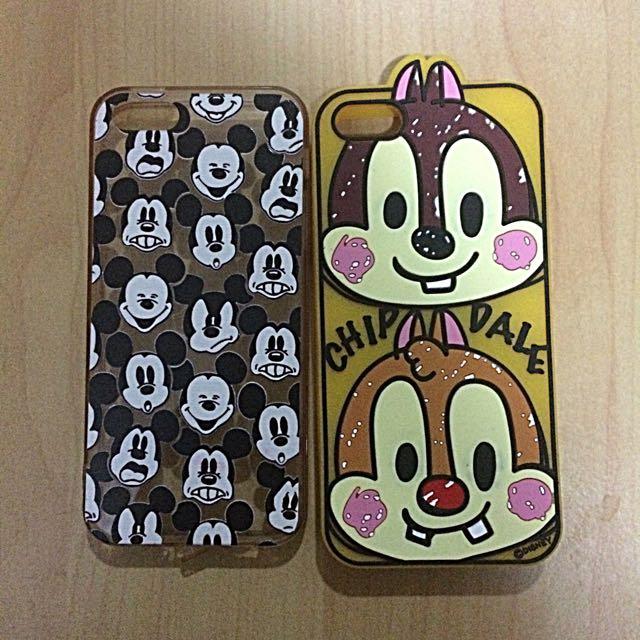 Iphone5/5s迪士尼軟殼全包