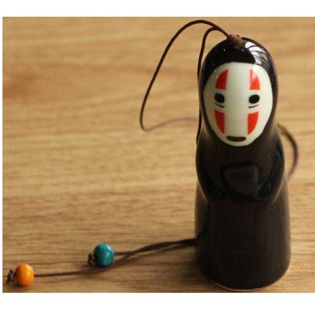 無臉男日式陶瓷風鈴創意掛飾品