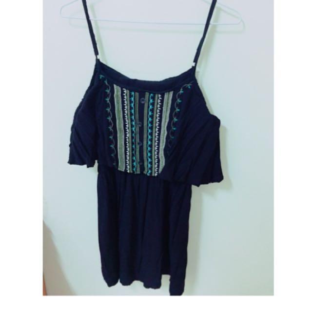 民族風連身短裙(降價