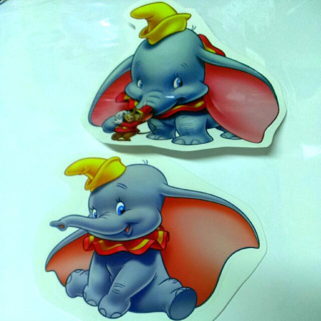 迪士尼小飛象貼紙