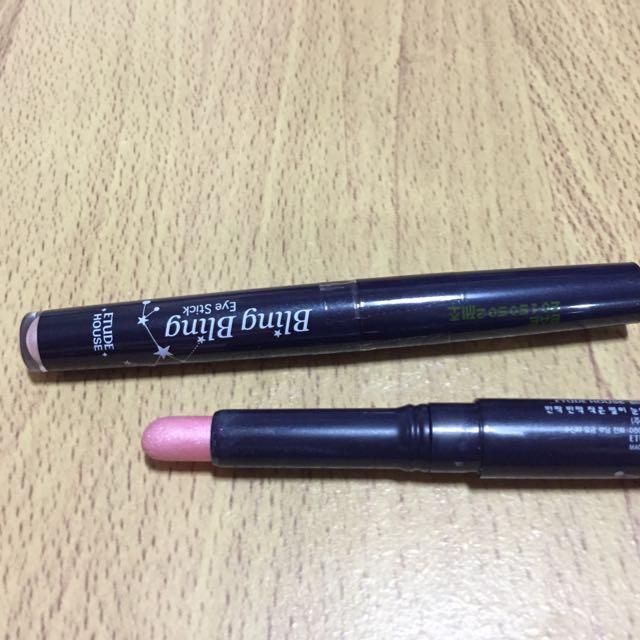 粉紅色眼影筆韓國