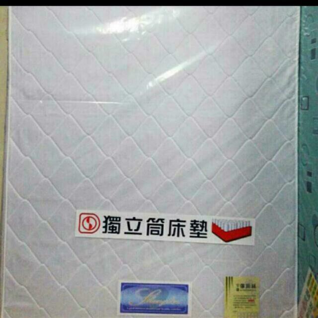 床工坊-雙人5尺雙線獨立筒床墊(可全省配送)