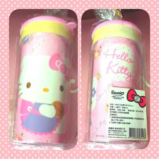 含運 正版 Hello Kitty凱蒂貓 NG杯子 塑膠杯