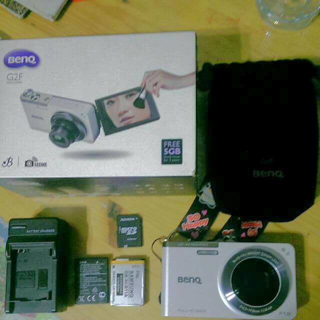 Benq G2f自拍美顏相機