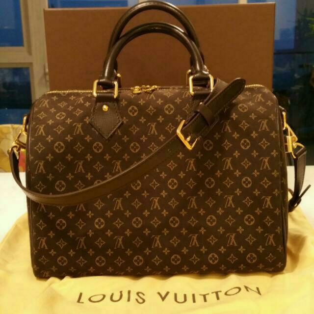 Louis Vuitton Speedy Bandouliere Bag Monogram Idylle 30 9XR7O