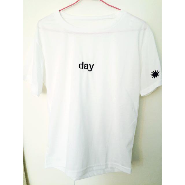 🏧待匯款🏧day白色T恤