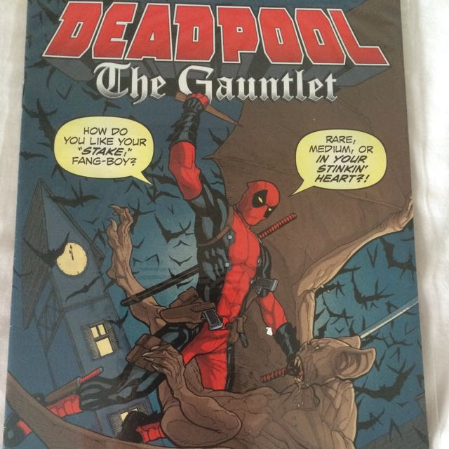 deadpool the gauntlet issue 1 comic book toys games on carousell