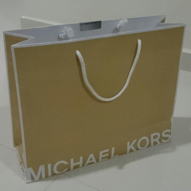 4ccb585d4bb5 Original Michael Kors Paper Bag