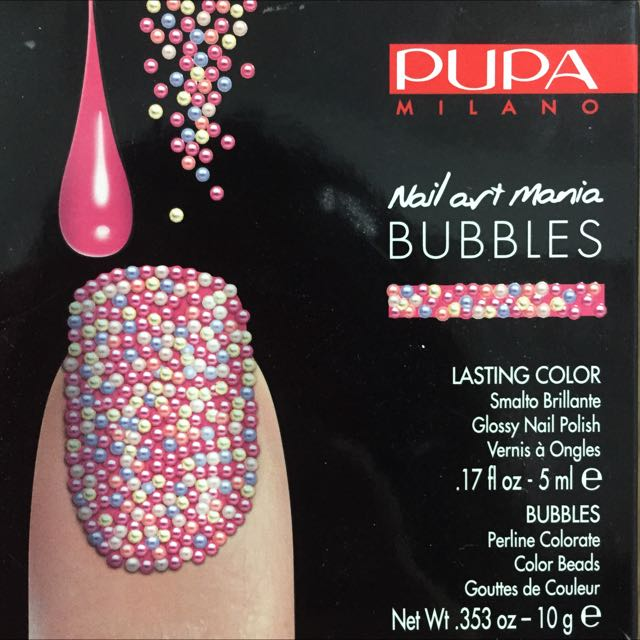 Pupa Bubbles Nail Art Mania, Women\'s Fashion on Carousell