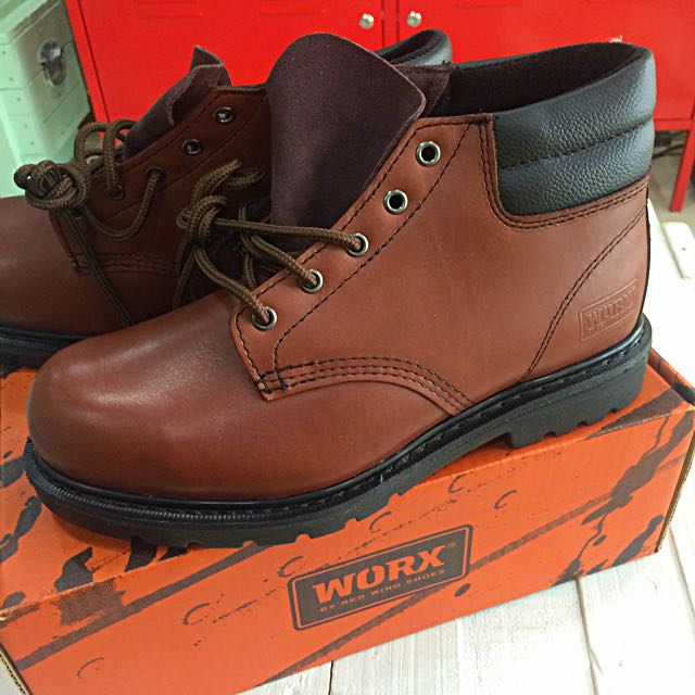 23947295ef1 WORX by Red Wings Steel Toe Boots