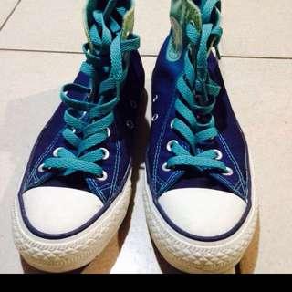 Converse藍色漸層(絕版瞜)