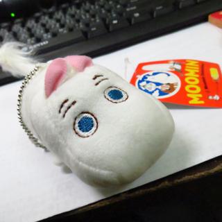 日本帶回 MOOMIN 嚕嚕米 精靈TSUM手機螢幕擦 全新!