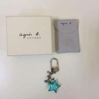 agnes.b 正品 吊飾 包包 鑰匙都可用
