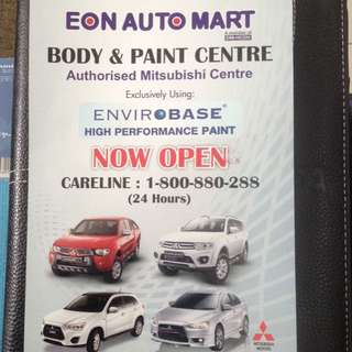To Repair & Touch-up Your Mitsubishi Vehicle